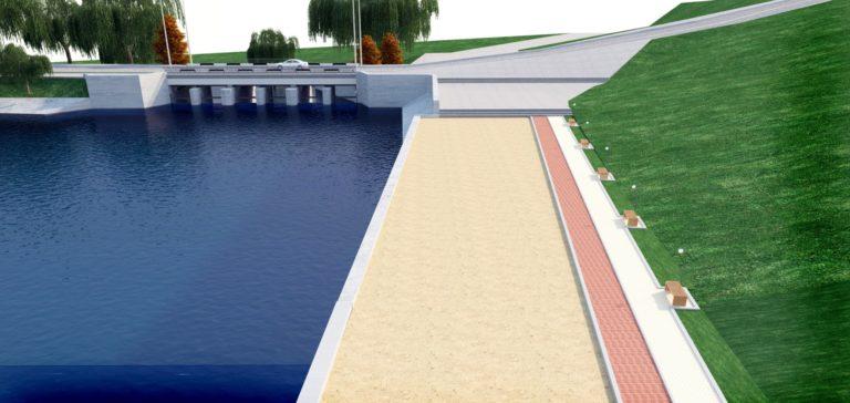 У Рівному пропонують збудувати Набережну на пляжі озера Басів Кут