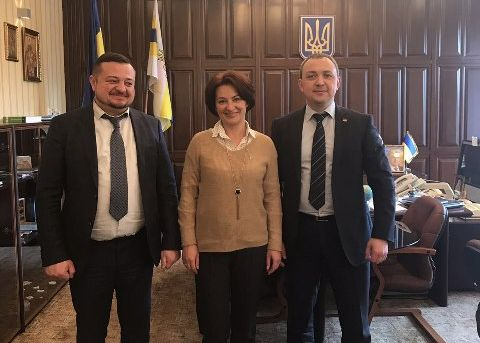 Олексій Муляренко і новий керівник обласної юстиції домовилися про ефективну співпрацю