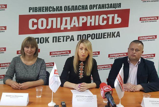 На Рівненщині дві громади із трьох новостворених очолять представники БПП