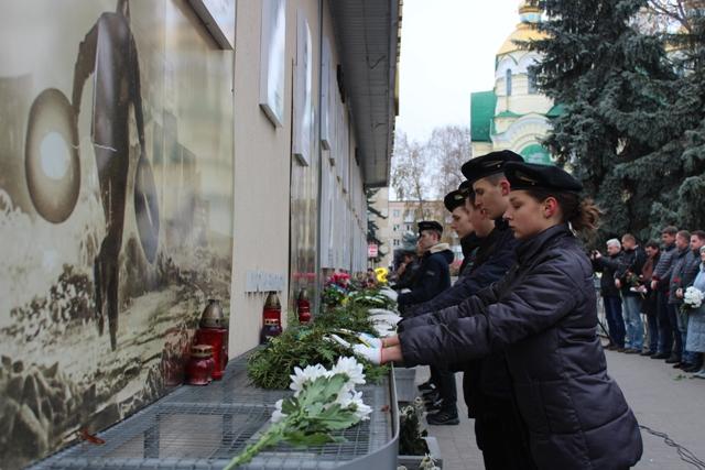 У День Гідності та Свободи в Рівному вшанували Героїв Майдану та АТО