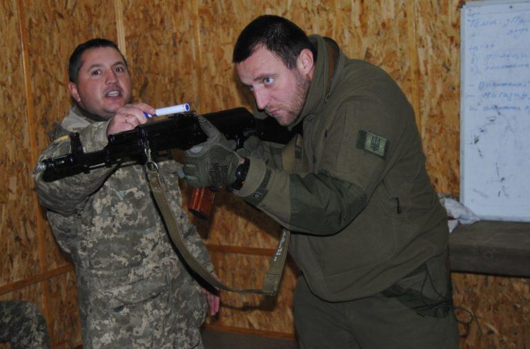 На Рівненщині триває заключний етап Курсу підготовки інструкторів Збройних Сил України за стандартами НАТО