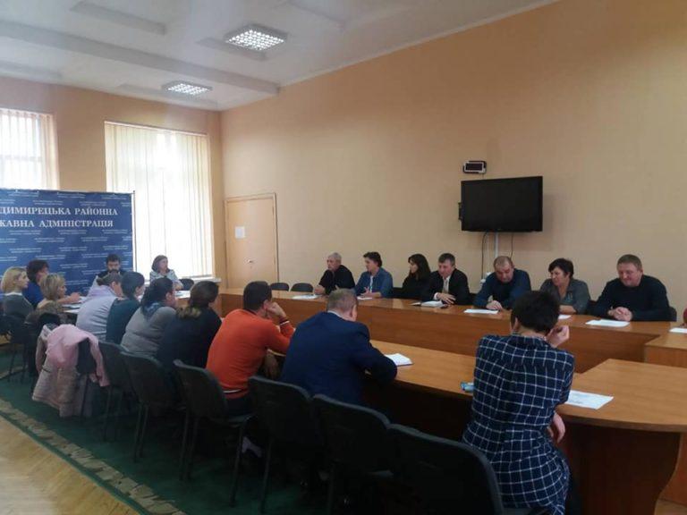 У Володимирці блокують створення ОТГ