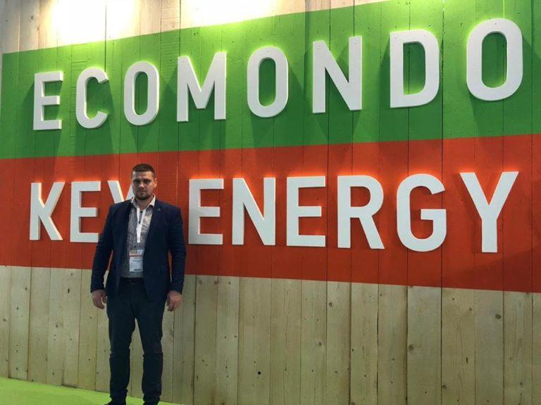 Депутат Рівнеради знайомиться із новинками індустрії побутових відходів на міжнародній виставці в Італії