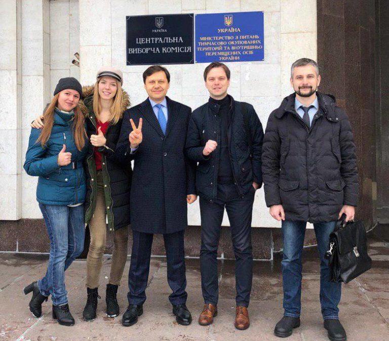 Перший пішов: екс-міністр екології подав документи у ЦВК для реєстрації кандидатом у президенти