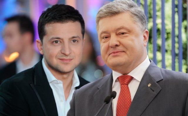 Зеленський і Порошенко є лідерами президентського рейтингу – опитування КМІС