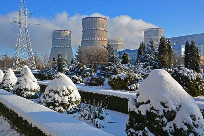 На Рівненській АЕС у січні вироблено близько двух мільярдів кВт годин електроенергії