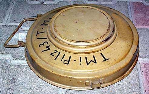 На Рівненщині знищено німецьку протитанкову міну ТМі 43