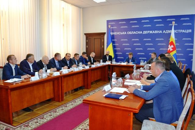 Коваль провів зустріч із керівниками районів Рівненщини і доручив провести аудит