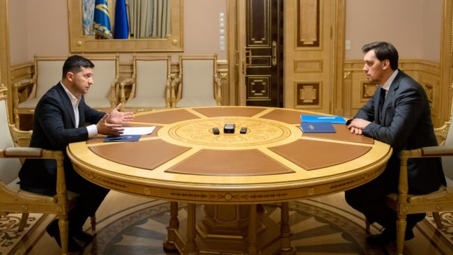 Зеленський дав шанс Гончаруку і відмовився приймати його відставку (+ВІДЕО)
