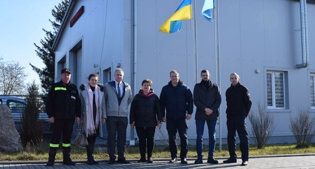 Центр безпеки громадян під Рівним відвідав представник ЄС