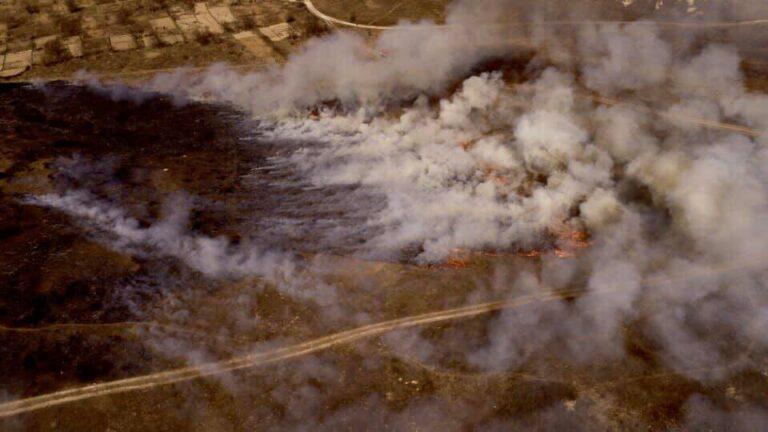 Рівне у вогні: люди продовжують палити суху траву (+ФОТО)