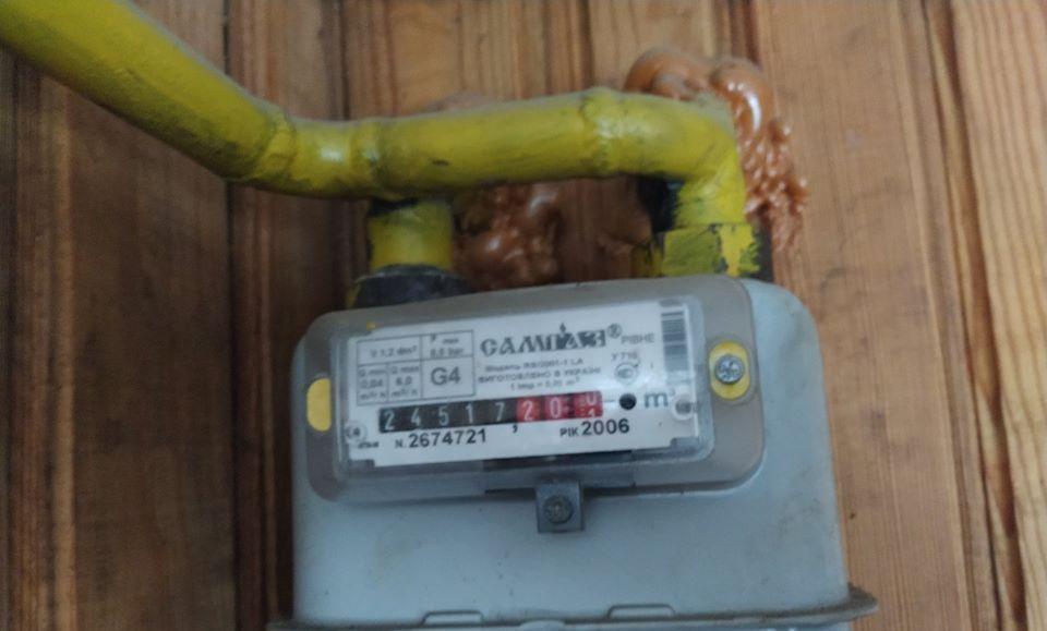 На Рівненщині продовжують красти газ