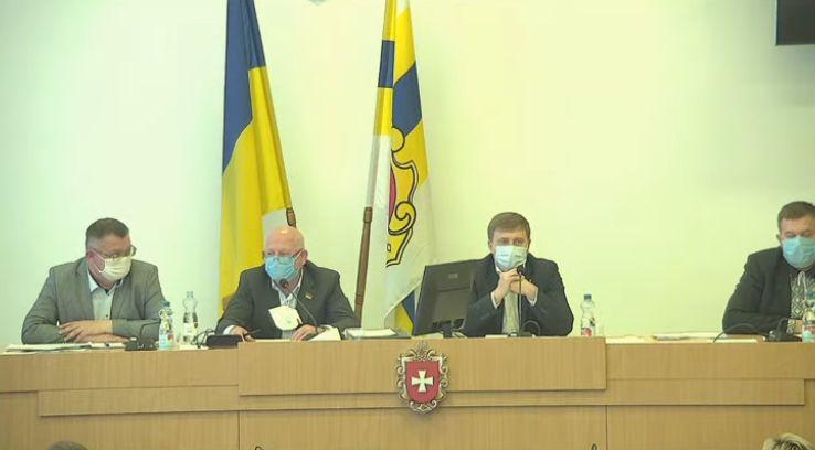 Депутати облради відмовилися скасувати звільнення Івана Зими з посади головного лікаря обласної лікарні