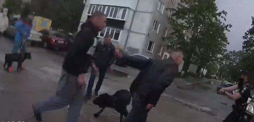 На Рівненщині суд арештував нападників на поліцейських (+ВІДЕО)