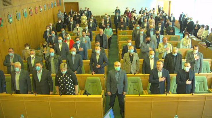 У Рівному розпочалася сесія обласної ради