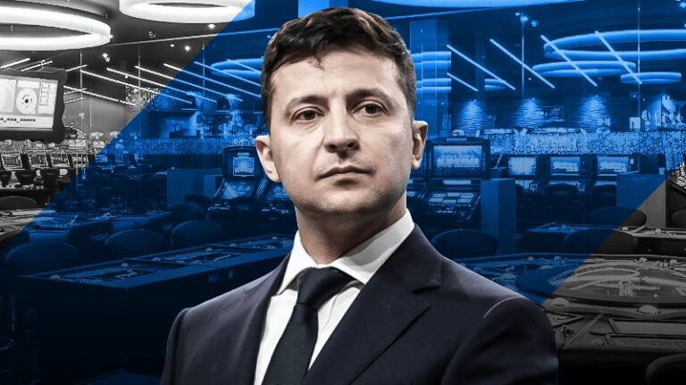В Украине президент легализовал игорный бизнес и букмекерские компании