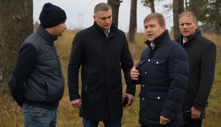Віталій Коваль відвідав WіM-комплекс для зважування вантажівок у русі поблизу Сарн