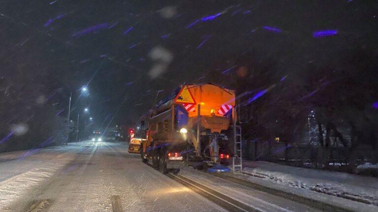 На Рівненщину повернулися сильні снігопади (+ФОТО)