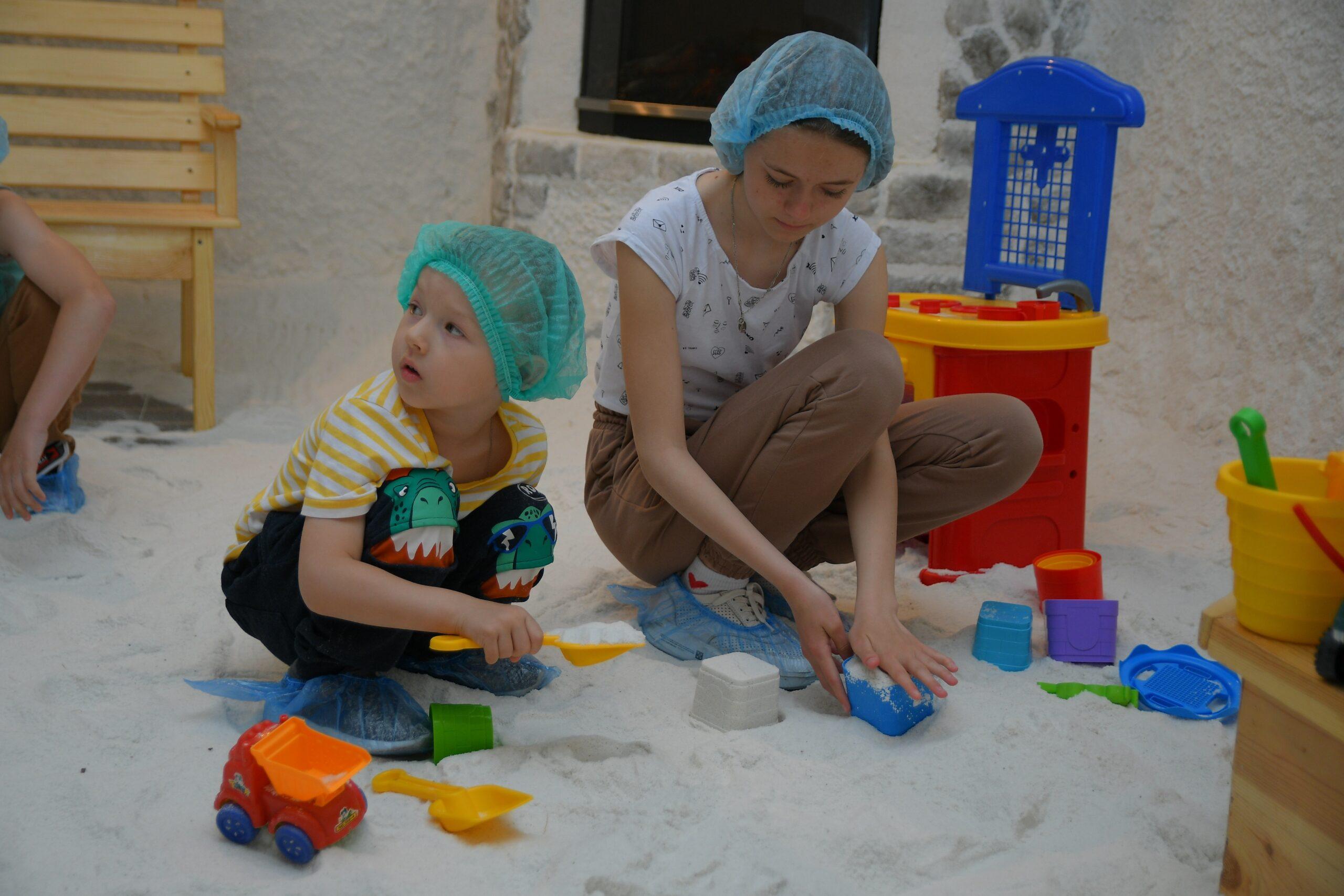 У Вараші діти з інвалідністю проходять реабілітацію разом з батьками