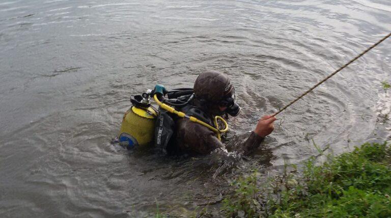 У річці Стир поблизу Вараша рятувальники виявили потопельника