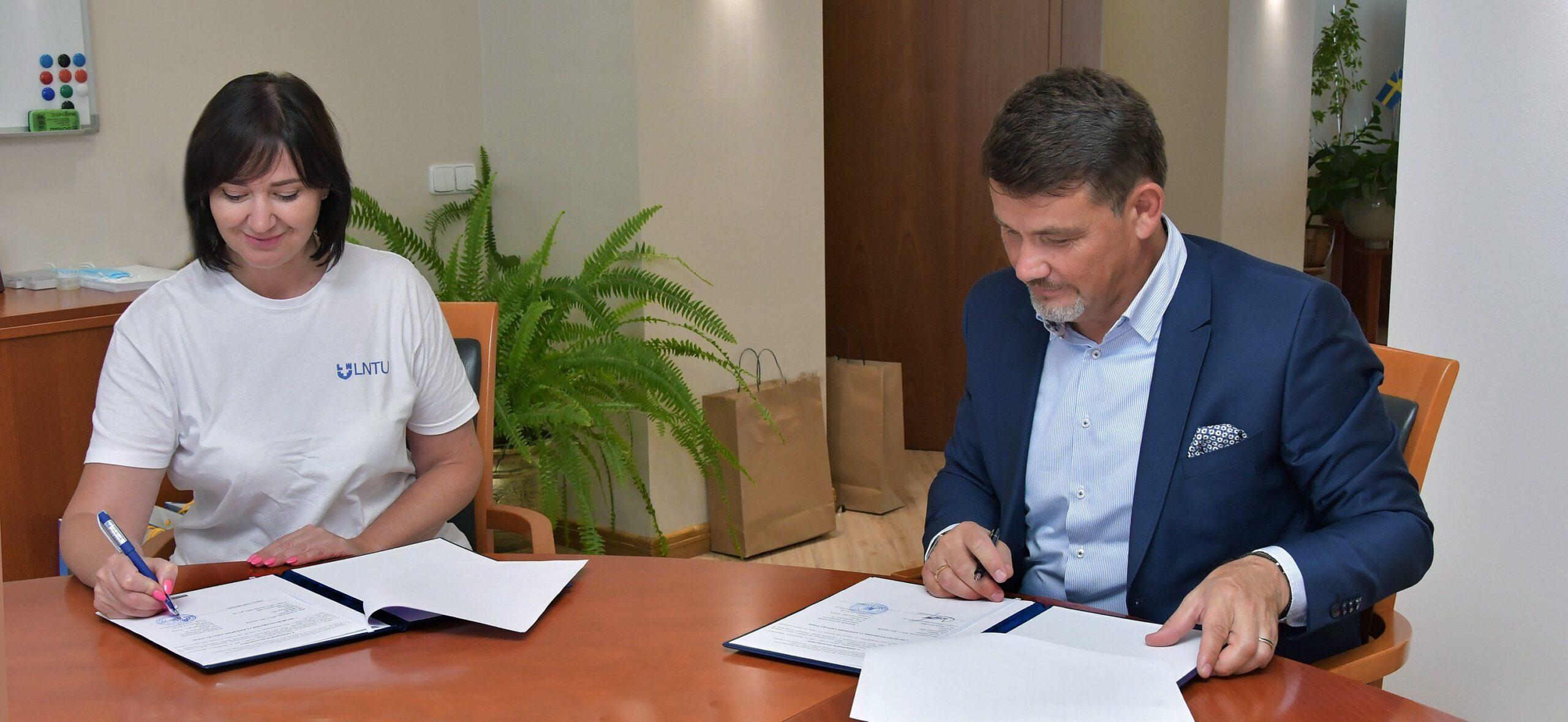 Рівненська АЕС та волинський ВУЗ уклали договір про співпрацю