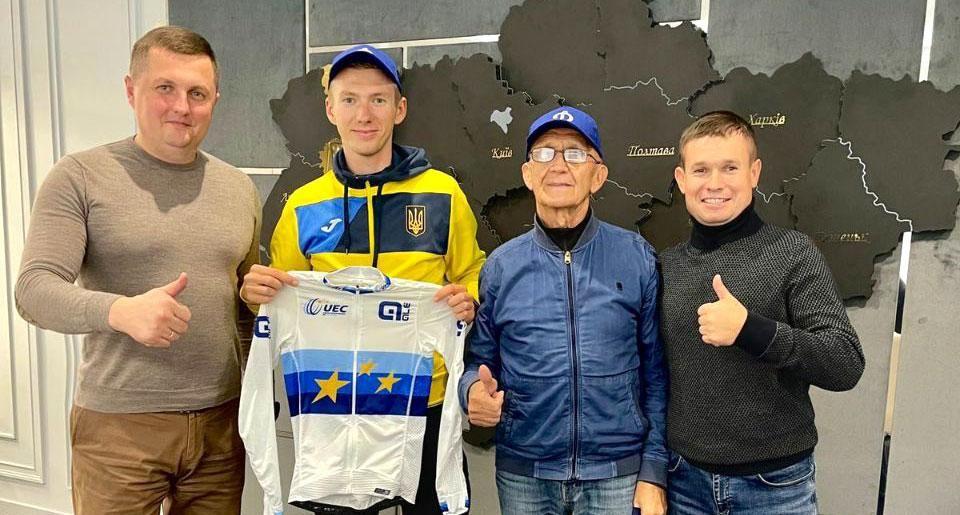 Керівник поліції Рівненщини привітав юного чемпіона Європи із перемогою