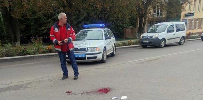 На Рівненщині водійка легковика збила велосипедистку (+ФОТО)